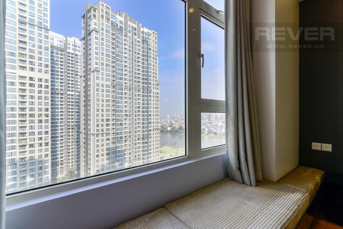 View  Bán hoặc cho thuê căn hộ Saigon Pearl 3PN, tháp Ruby 1, đầy đủ nội thất, view sông và nội khu