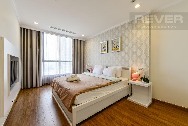 Phòng ngủ 2 Căn hộ Vinhomes Central Park 2 phòng ngủ tầng cao L3 đầy đủ tiện nghi