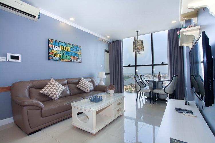 Bán căn hộ Icon 56 tầng trung, 3 phòng ngủ, diện tích 82m2, đầy đủ nội thất
