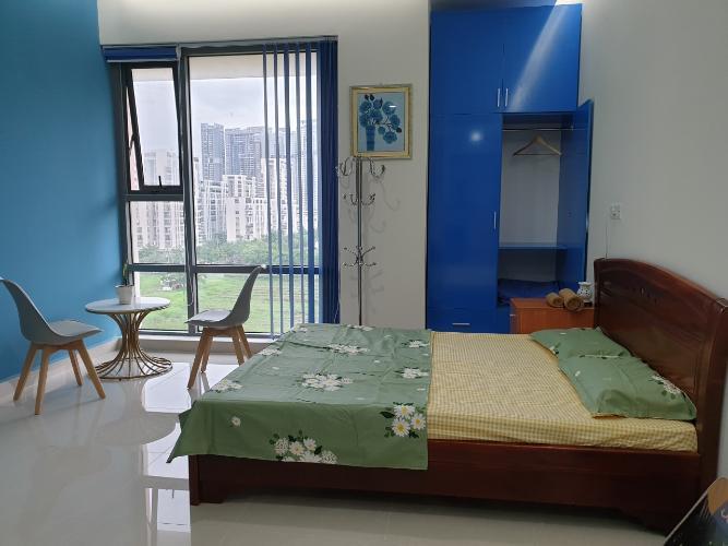 Phòng ngủ Golden King Quận 7 Căn hộ Office-tel Golden King hướng Đông Nam, view thành phố.