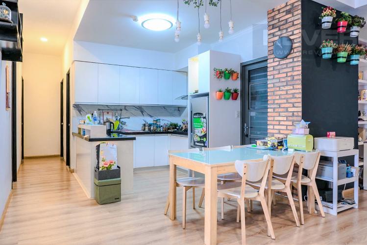 Phòng Ăn và Bếp Căn hộ Docklands Sài Gòn tầng thấp, 3PN đầy đủ nội thất