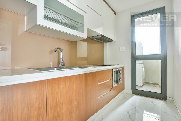 Phòng bếp Căn góc Masteri Thảo Điền tầng cao hướng Tây Bắc tháp T2