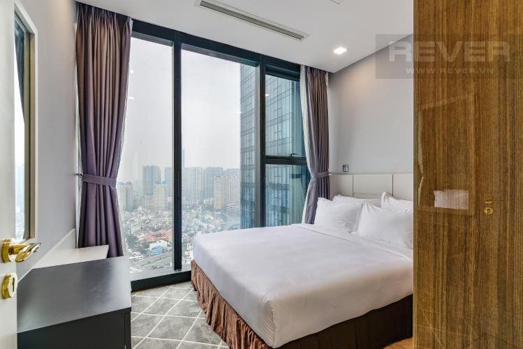 Phòng Ngủ 2 Căn hộ Vinhomes Golden River tầng cao 2PN đầy đủ nội thất, có thể dọn vào ở ngay