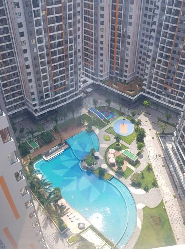 View nội Khu 2PN Safira Cho thuê căn hộ Safira Khang Điền đầy đủ nội thất, view nội khu.
