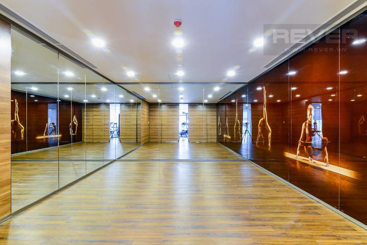 Phòng Yoga Căn hộ Nassim Thảo Điền tầng trung, tháp A, 2 phòng ngủ, view sông