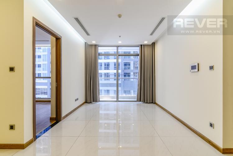 Phòng Khách Căn hộ Vinhomes Central Park 2 phòng ngủ tầng cao P4 nhà trống
