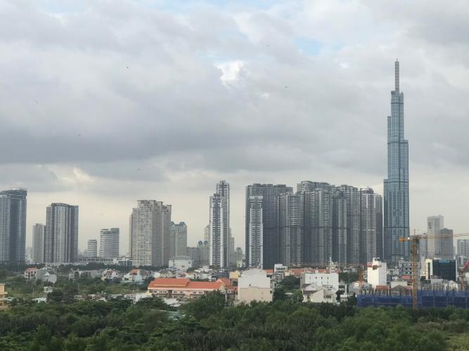 View New City Thủ Thiêm, Quận 2 Căn hộ New City Thủ Thiêm tầng trung, view Landmark 81.