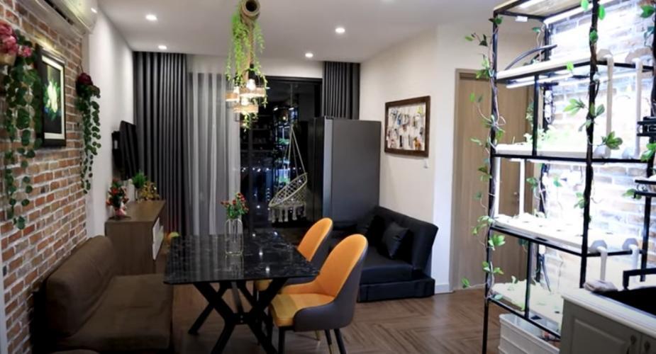 Phòng khách Vinhomes Grand Park Quận 9 Căn hộ tầng trung Vinhomes Grand Park cùng đầy đủ nội thất.