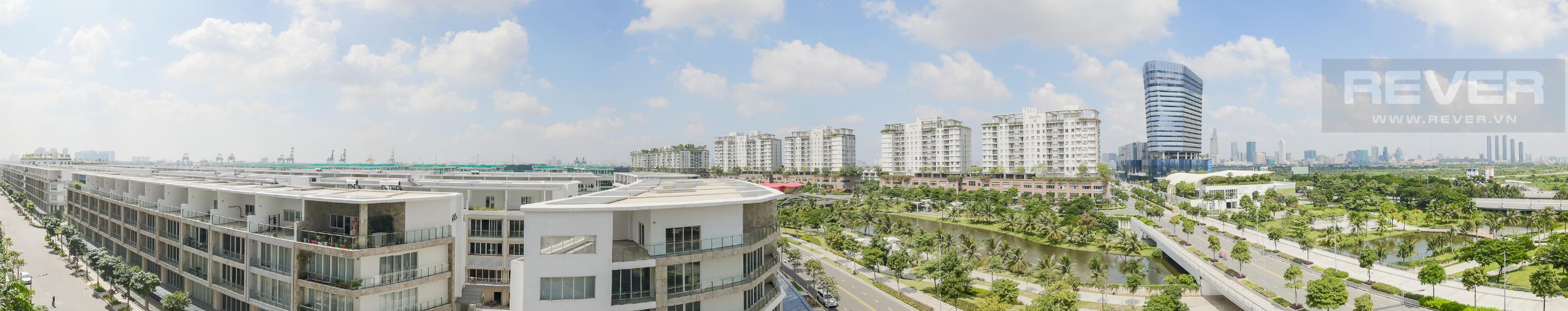 View Cho thuê căn hộ Sarina Condominium 3PN, tầng thấp, đầy đủ nội thất, hướng Đông Nam đón gió