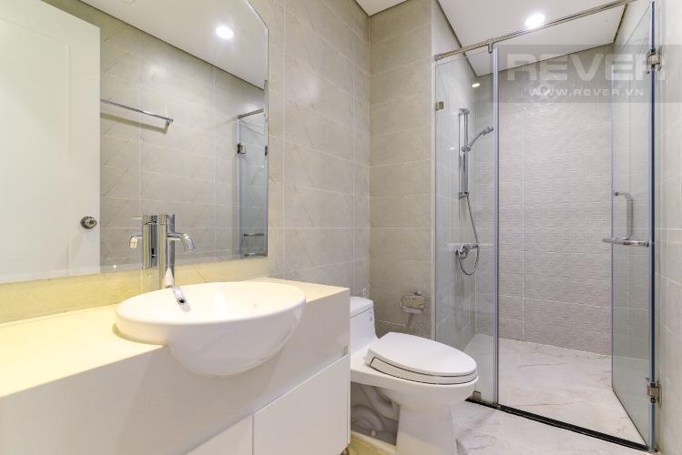 Toilet căn hộ VINHOMES CENTRAL PARK Cho thuê căn hộ Vinhomes Central Park 1PN, tầng 15, diện tích 53m2, nội thất cơ bản