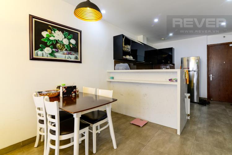 Phòng Ăn & Bếp Cho thuê căn hộ The Gold View 2PN, tầng trung tháp A, đầy đủ nội thất, hướng Tây Nam