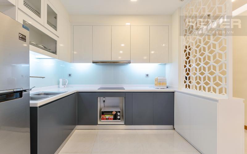 bếp Căn hộ 2 phòng tại The Park 6 Vinhomes Central Park đầy đủ nội thất