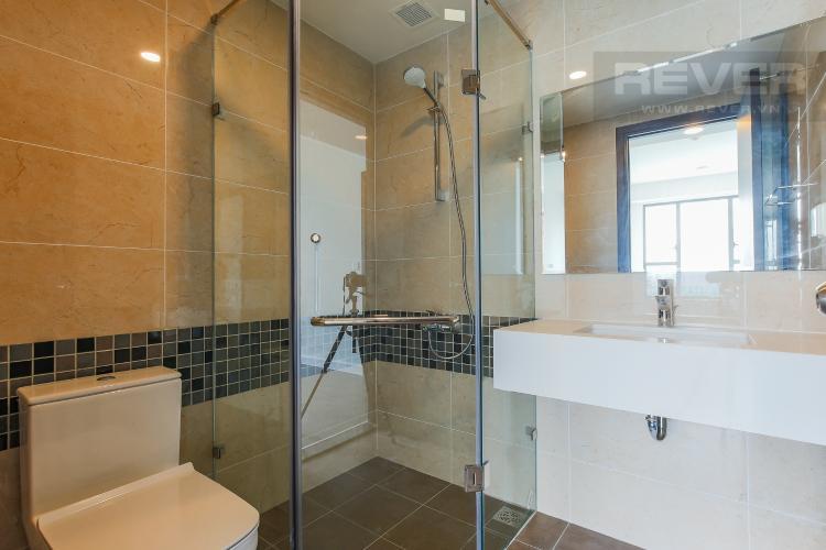 Phòng Tắm 1 Căn hộ The Tresor 2 phòng ngủ tầng cao TS1 nội thất cơ bản