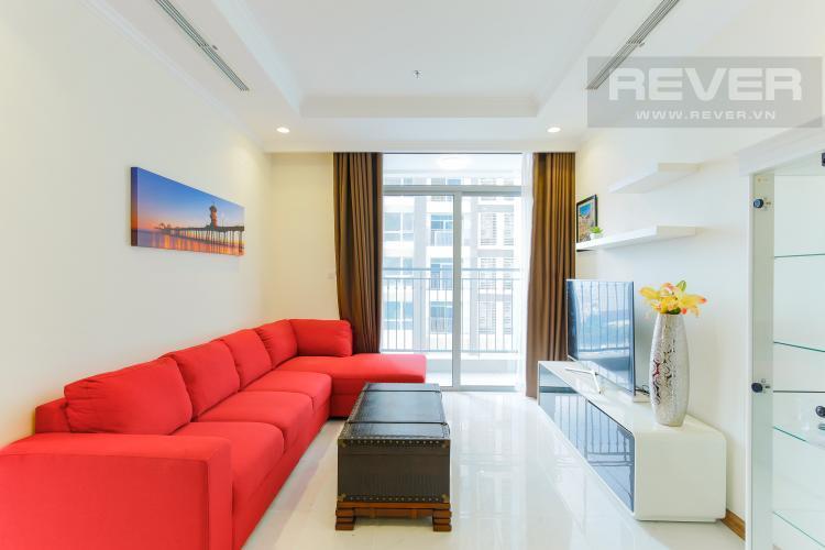 Phòng Khách Bán căn hộ Vinhomes Central Park 2PN, tháp Landmark 3, diện tích 81m2, đầy đủ nội thất