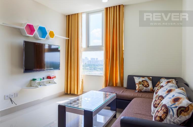 Phòng khách Căn góc The Park Residence trung tầng tháp B2 đầy đủ nội thất
