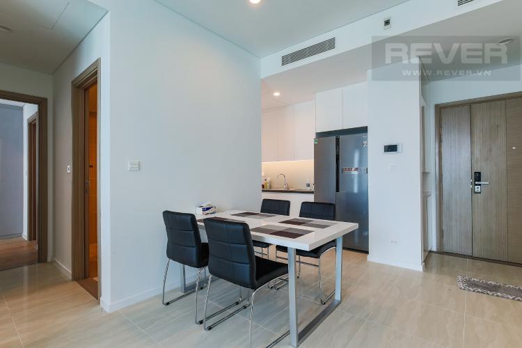 Bàn Ăn Cho thuê căn hộ Sadora Sala Đại Quang Minh 88m2, nội thất tiện nghi, view hồ bơi