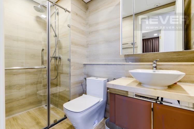 Phòng tắm 1 Cho thuê căn hộ Vinhomes Golden River tầng trung 2PN đầy đủ nội thất