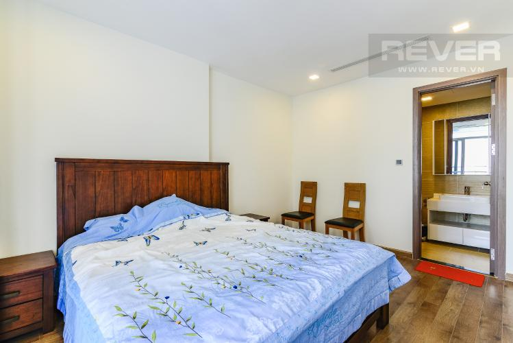 Phòng Ngủ 1 Căn hộ Vinhomes Central Park 3 phòng ngủ tầng cao P3 đầy đủ tiện nghi