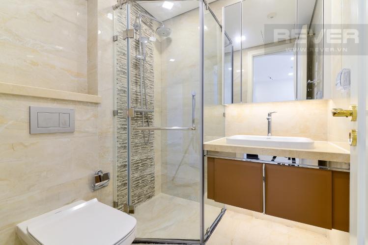 Phòng Tắm Cho thuê căn hộ officetel Vinhomes Golden River 1PN, tháp The Aqua 1, view sông Sài Gòn