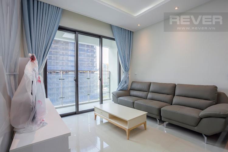 Phòng Khách Căn hộ Estella Heights 2 phòng ngủ tầng trung T1 đầy đủ nội thất