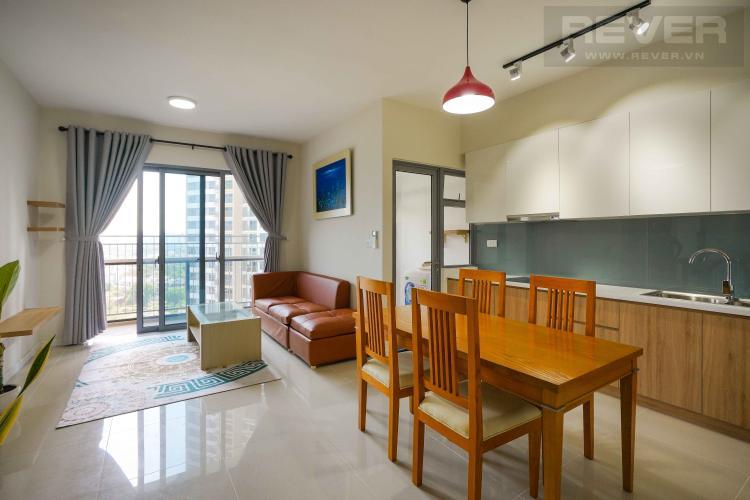 Cho thuê căn hộ Palm Heights 2 phòng ngủ, diện tích 76m2, đầy đủ nội thất