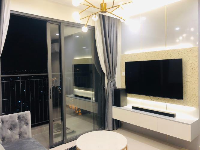phòng khách căn hộ Vinhomes Grand Park quận 9 Căn hộ Vinhomes Grand Park tầng 22, view sông cực đẹp