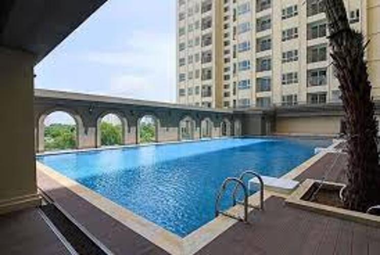 Hồ bơi Saigon Mia, Bình Chánh Căn hộ Officetel Saigon Mia nội thất cơ bản, view thoáng mát.