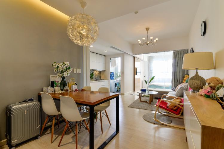 Bán căn hộ Lexington Residence 1PN tầng trung, đầy đủ nội thất, view nội khu và Landmark 81
