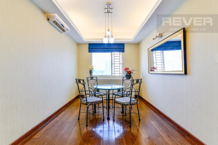 Phòng Ăn Căn hộ D5 Chung cư Thế Hệ Mới 2 phòng ngủ nội thất đầy đủ