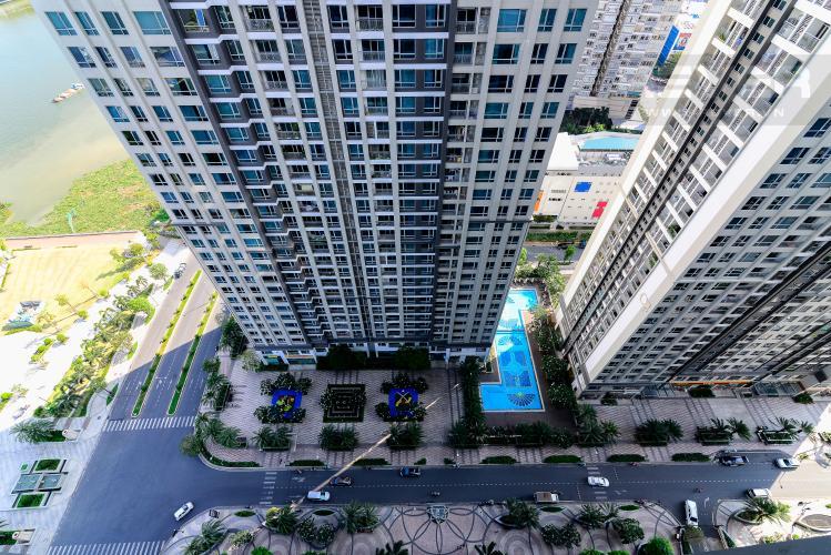 View Bán và cho thuê căn hộ Vinhomes Central Park 2 phòng ngủ tầng cao tháp Park 1, view sông mát mẻ