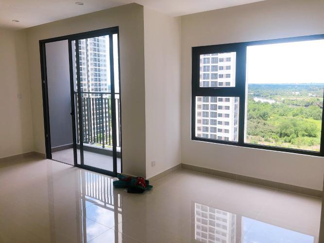 Phòng khách căn hộ Vinhomes Grand Park Căn hộ tầng cao Vinhomes Grand Park nội thất cơ bản, view sông.