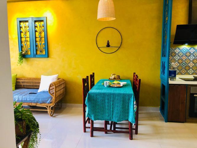 Bàn ăn Căn hộ The Sun Avenue Căn hộ The Sun Avenue đầy đủ nội thất vintage, thiết kế nổi bật.