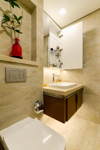 _DSC1643 Bán căn hộ Vinhomes Golden River 1 phòng ngủ, tầng thấp, đầy đủ nội thất sang trọng, view trực diện sông thoáng mát