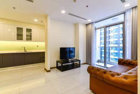 Căn hộ Vinhomes Central Park 3 phòng ngủ tầng cao Park 2 hướng Nam, full nội thất