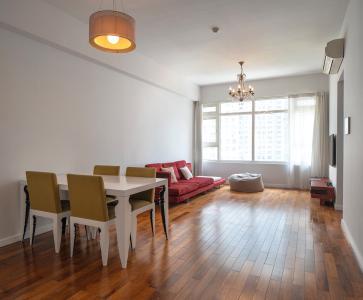Cho thuê căn hộ SaiGon Pearl, tầng thấp, 2 phòng ngủ, diện tích 83.6m2, đầy đủ nội thất với thiết kế tân cổ điển