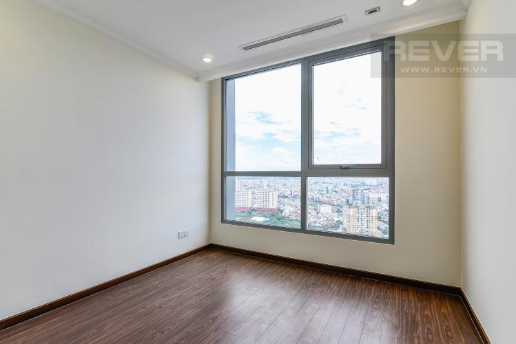 Phòng Ngủ 3 Căn hộ Vinhomes Central Park 3 phòng ngủ tầng cao L5 nội thất cơ bản