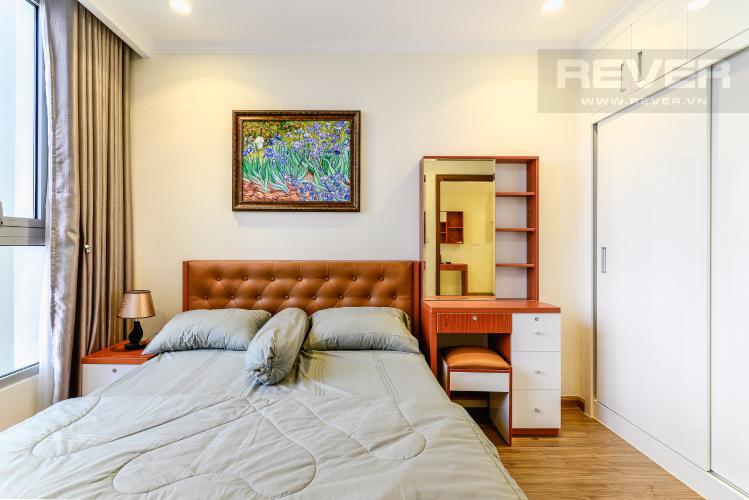 Phòng Ngủ Căn hộ Vinhomes Central Park 1 phòng ngủ tầng cao L3 nội thất đầy đủ