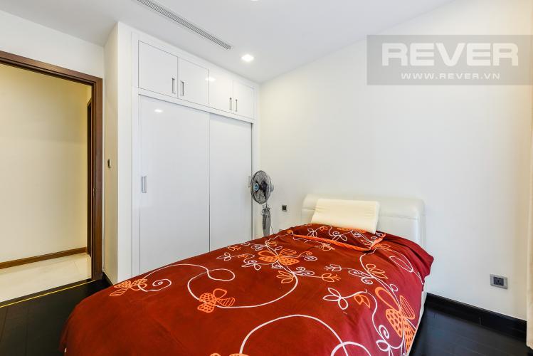 Phòng ngủ 2 Căn hộ Vinhomes Central Park 3 phòng ngủ tầng cao P3 hướng Bắc