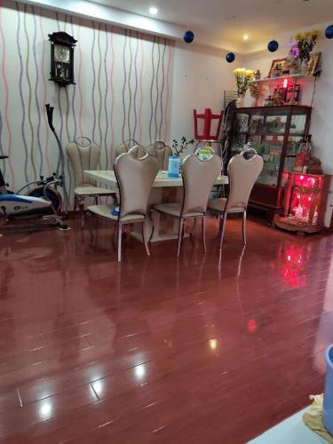 Phòng ăn chung cư Nguyễn Quyền, Bình Tân Căn hộ chung cư Nguyễn Quyền nội thất cơ bản, view thoáng mát.