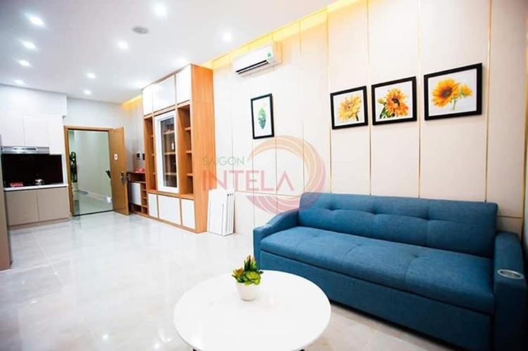 Phòng khách Saigon Intela, Bình Chánh Căn hộ Saigon Intela tầng cao đón gió, view thành phố thoáng mát.