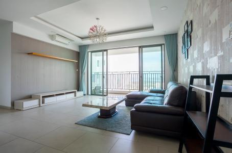 Căn hộ Riviera Point 2 phòng ngủ tầng cao T3 thiết kế đẹp