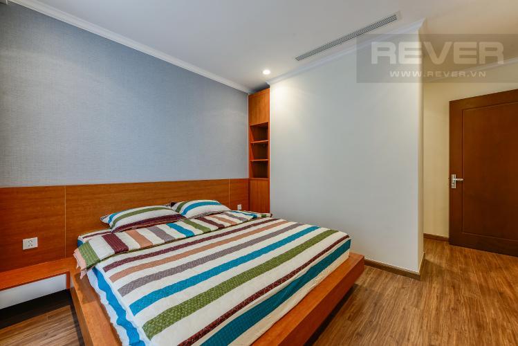 Phòng ngủ 1 Căn hộ Vinhomes Central Park 3 phòng ngủ tầng trung L4 nội thất đầy đủ