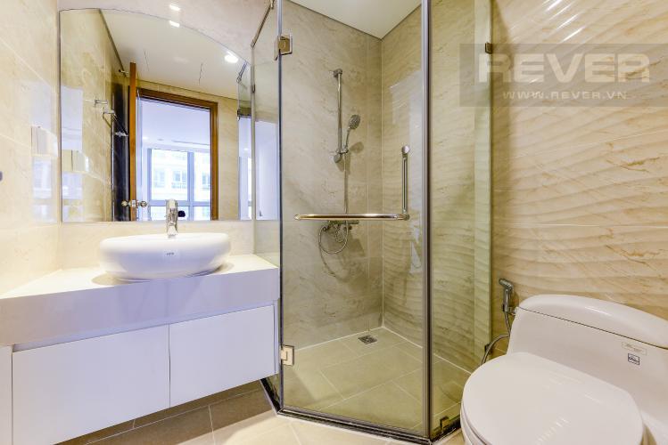 Phòng tắm 1 Căn hộ Vinhomes Central Park 2 phòng ngủ tầng trung L4 hướng Đông Bắc
