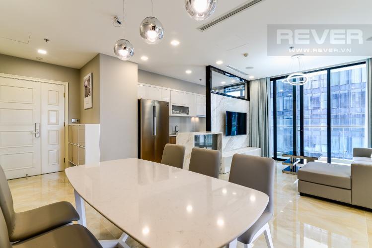 Phòng Khách Căn hộ Vinhomes Golden River tầng thấp tòa Aqua4 tầng thấp 3 phòng ngủ view sông