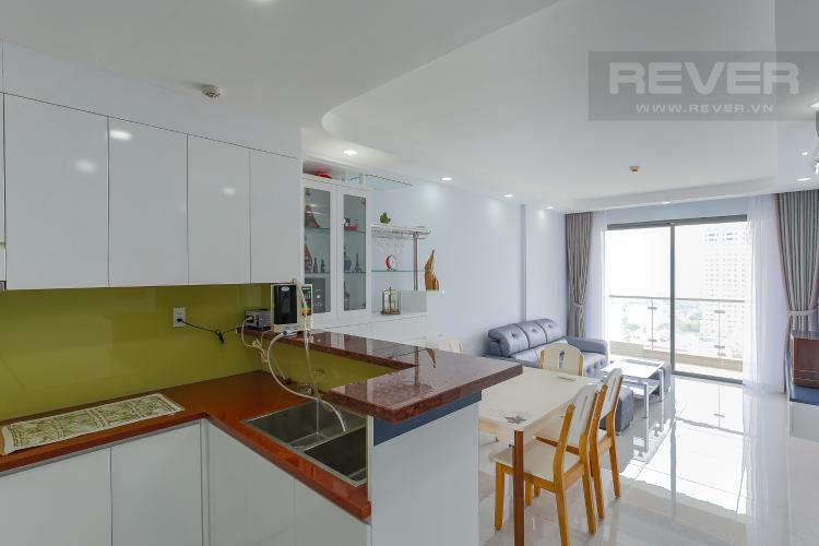 Phòng Bếp Căn hộ The Gold View 2 phòng ngủ tầng trung A3 nội thất đầy đủ