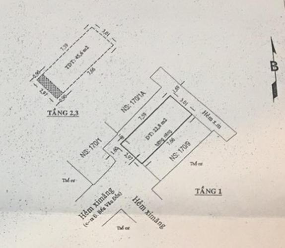 Nhà phố, Quận 4 Nhà phố hẻm xe hơi Quận 4 có nội thất cơ bản, sổ hồng chính chủ