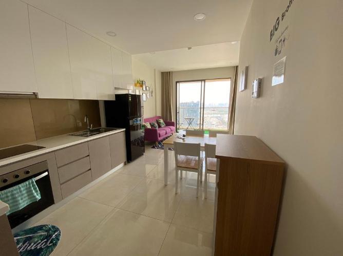 Cho thuê căn hộ Masteri Millennium 2PN, tầng cao, diện tích 65m2, đầy đủ nội thất