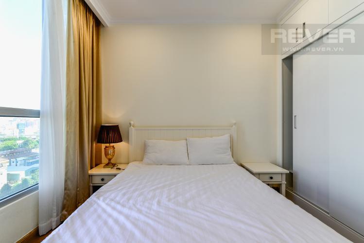 Phòng Ngủ 2 Căn hộ Vinhomes Central Park, tháp Landmark Plus, 2PN đầy đủ nội thất