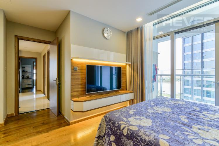 Phòng Ngủ 1 Căn hộ Vinhomes Central Park 4 phòng ngủ tầng thấp P2 view sông