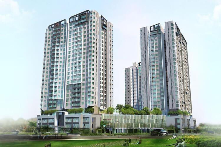 Sadora Apartment, Quận 2 Căn hộ Sadora Apartment tầng trung, view thành phố lung linh.